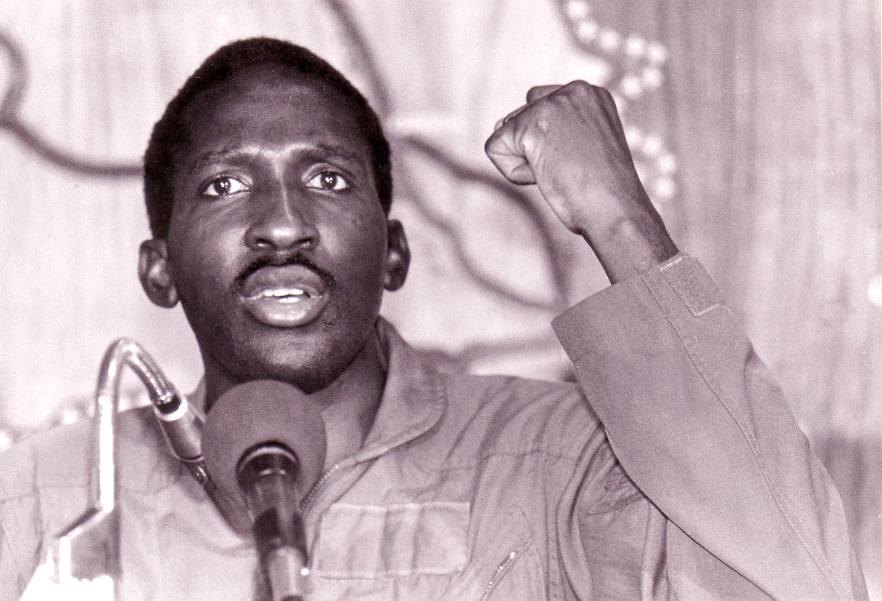 Risultati immagini per Thomas Sankara immagini