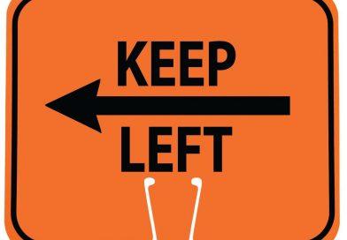 Keep left. Quello che non riusciamo ad imparare